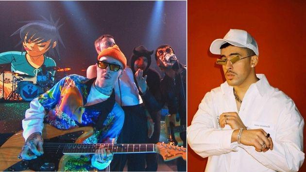 Bad Bunny grabó canción con Gorillaz y se estrenará ¡muy pronto!