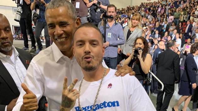 Barack Obama ama a J Balvin y al reggaetón