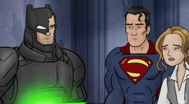 Mira cómo debió haber terminado 'Batman v Superman: Dawn of Justice'