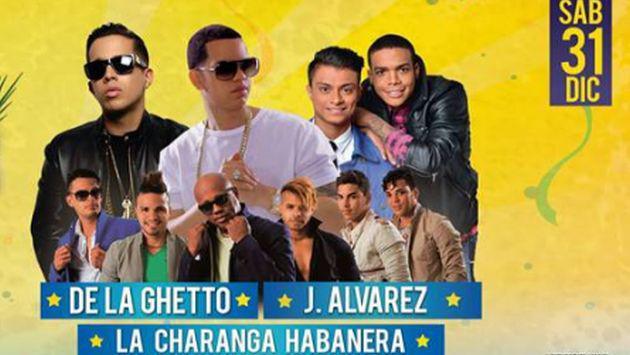 ¡No te pierdas el 'Believe Lima', el mejor evento de Año Nuevo con De La Ghetto, J Álvarez y 'La Charanga Habanera'!