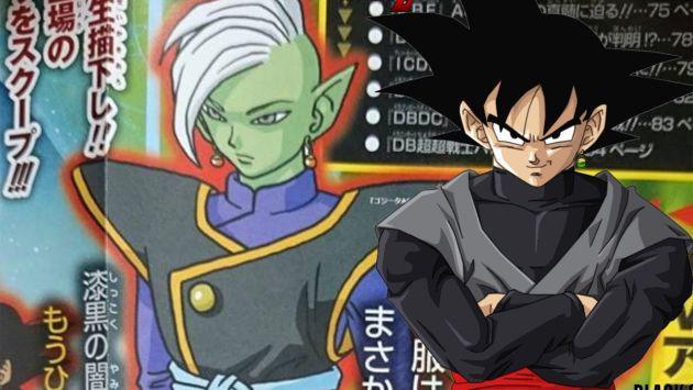 ¡Se revela que Black Gokú, villano de 'Dragon Ball Super', es producto de una fusión!