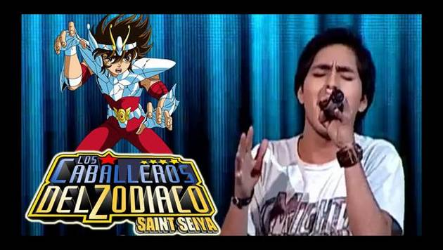 La Voz: Jefferson Tadeo cantó opening de Caballeros del Zodiaco [Video]