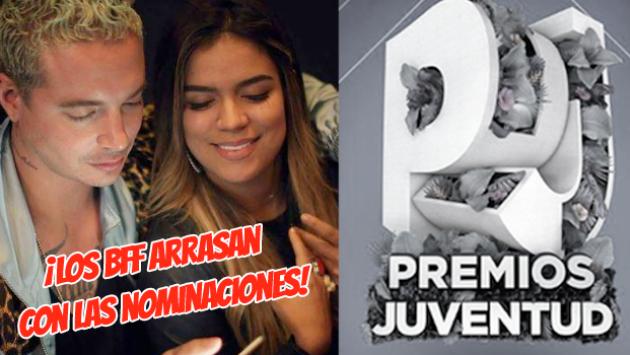 Checa la lista de Nominados a los Premios Juventud 2020