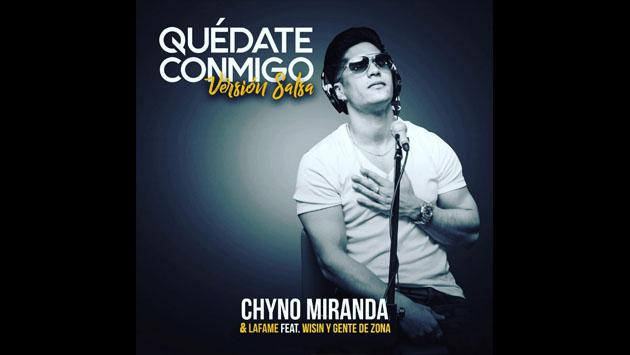 Chyno Miranda presenta 'Quédate conmigo' en versión salsa [VIDEO]
