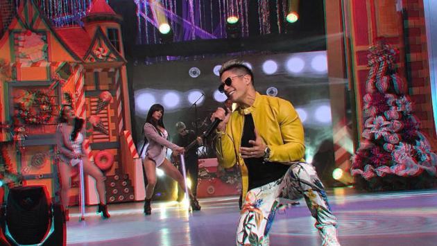 Chyno Miranda se presentó en la Teletón de Ecuador