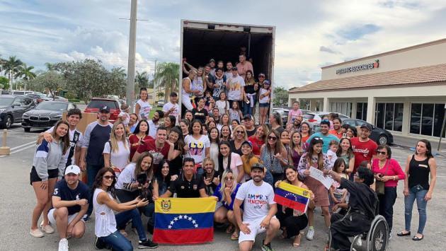 Chyno Miranda tuvo exitosa jornada de colecta para los más necesitados en Venezuela