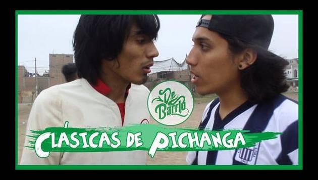 YouTube: De Barrio y las Clásicas de pichanga