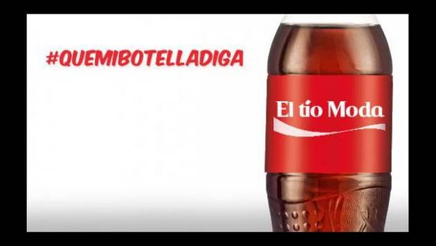 ¡#QueMiBotellaDiga El tío Moda!