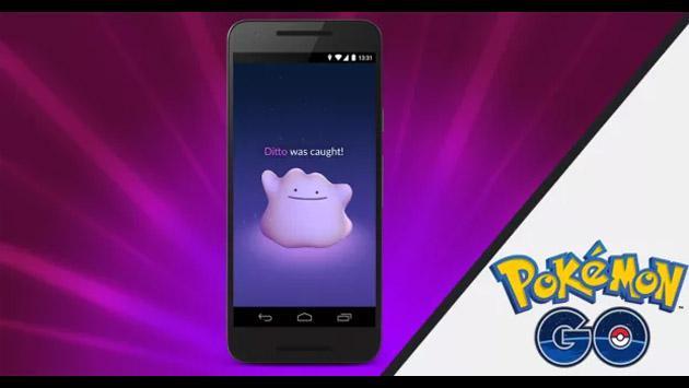 ¿Cómo capturar y luchar con un Ditto en 'Pokémon GO'?