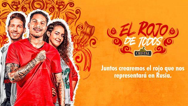 """Cristal lanza su nueva campaña, """"El Rojo de Todos"""", para obtener un rojo único que represente a los peruanos"""