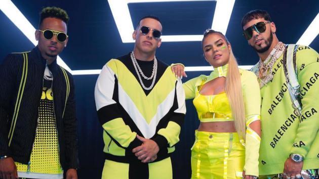 Daddy Yankee anuncia colaboración con Anuel AA, Ozuna y Karol G