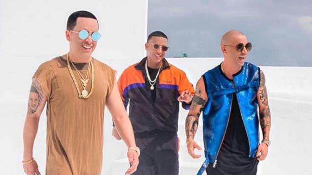Daddy Yankee celebra el éxito de su nueva canción junto a Wisin & Yandel
