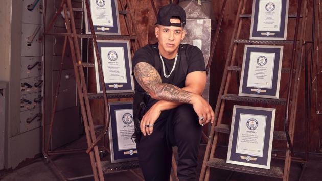 Daddy Yankee celebra sus 10 Guinness World Records