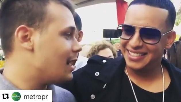 Daddy Yankee dio beca para la universidad a este joven y ahora él se lo agradece en persona [VIDEO]