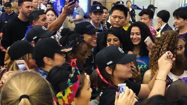 Daddy Yankee es sorprendido con caluroso recibimiento por fanáticos asiáticos