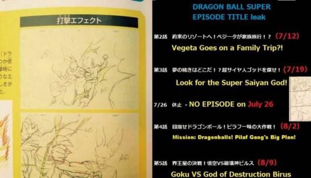 Dragon Ball Super: datos sorprendentes de los capítulos 3, 4 y 5