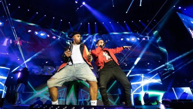 De La Ghetto, Karol G, J Balvin y muchos otros acompañaron a Nicky Jam en concierto en Colombia