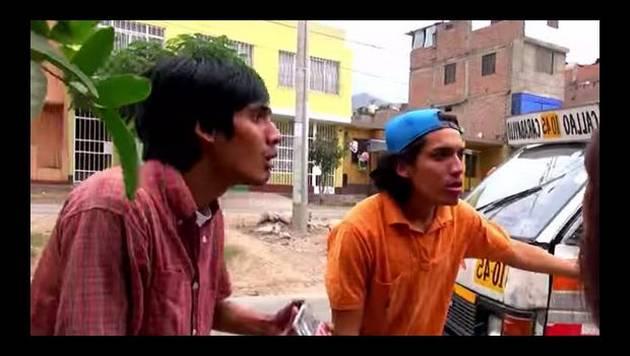 YouTube: De Barrio saluda a Carlonchito