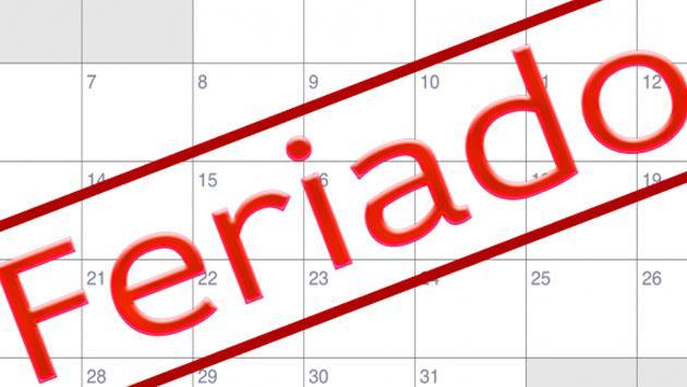 ¡Dos feriados más para el mes de octubre! Entérate qué días caen
