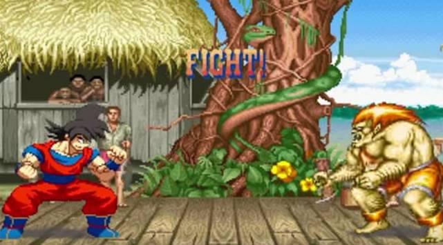Gokú de Dragon Ball en Street Fighter [Video]