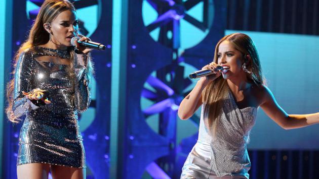 El poderoso discurso con el que Becky G y Leslie Grace abrieron la gala de los Latin AMAs