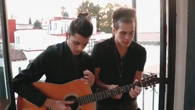 Escucha a los chicos de CNCO cantando a capela en inglés [VIDEO]