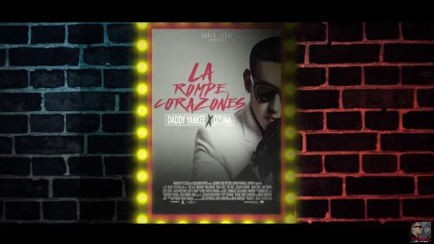 Escucha lo nuevo de Daddy Yankee y Ozuna: 'La rompe corazones' [VIDEO]
