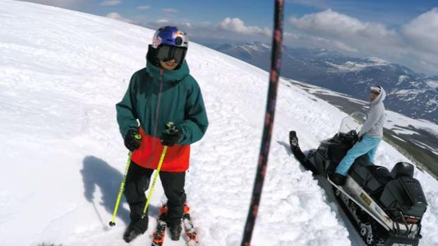 ¡Alucinante! Este esquiador logró una pirueta épica [VIDEO]