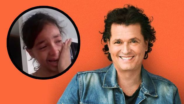 Esta niña ya recibió llamada de Carlos Vives y lloró de emoción. Tú puedes ser la siguiente [VIDEO]
