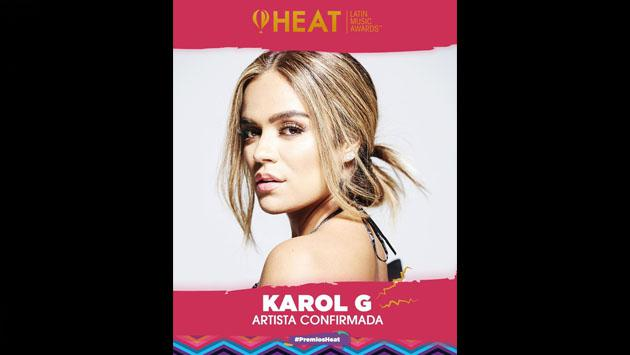 Estos son los artistas confirmados para los Premios Heat 2019
