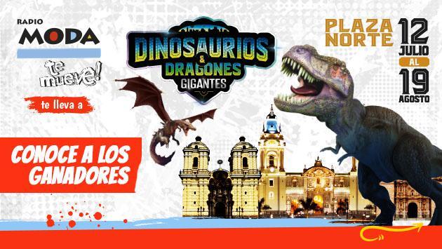 ¡Estos son los ganadores de entradas dobles para 'Dinosaurios y Dragones Animatronics'!