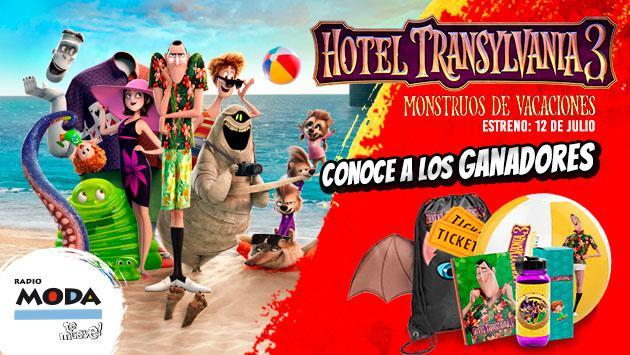Estos son los ganadores de entradas y packs oficiales de 'Hotel Transilvania: monstruos de vacaciones'