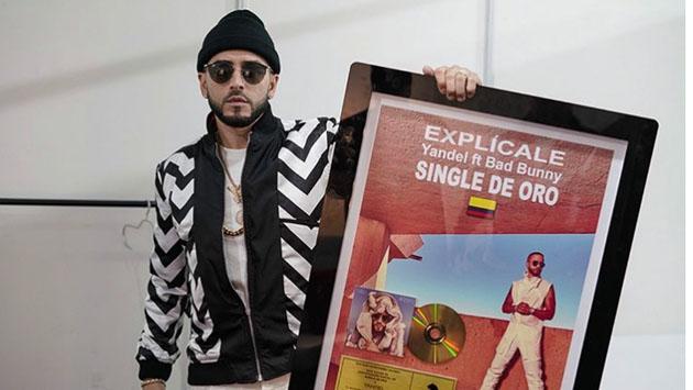 'Explícale', de Yandel, es Single de Oro en Colombia