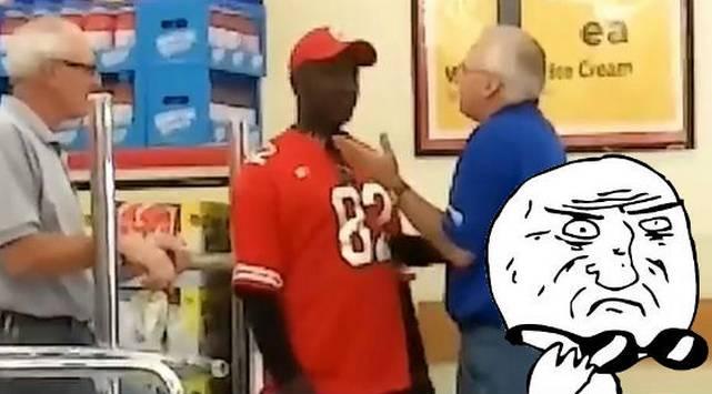 Mira todo lo que escondió en sus pantalones este ladrón de supermercados
