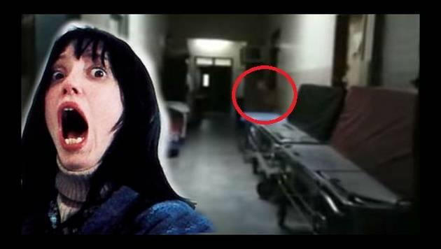 ¿Un fantasma fue captado en un hospital? Mira el video