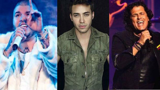 Farruko, Prince Royce y Carlos Vives se juntan para...