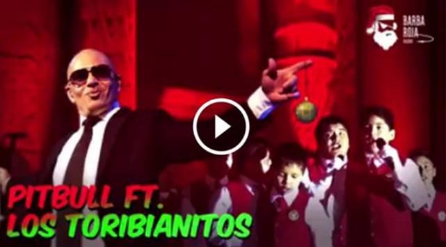 ¿Pitbull y Los Toribianitos cantan villancico juntos? Tienes que ver esto