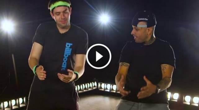 Nicky Jam te enseña a bailar 'El Perdón'