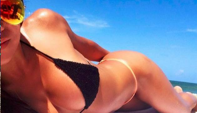 ¡Una diosa! Giannina Luján demuestra que es una 'bomba sexy' con estas sensuales fotos