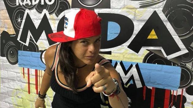 ¡Giovanna Valcárcel es de Radio Moda! Así fue su llegada [FOTOS Y VIDEOS]