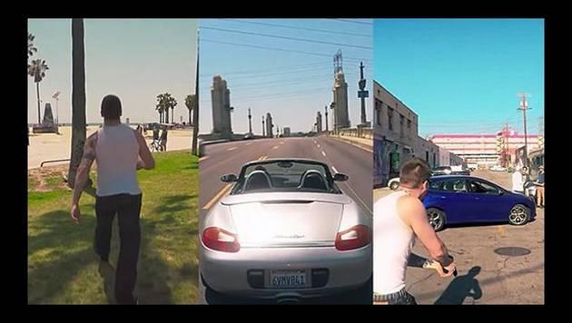 YouTube: Así sería GTA V en la vida real