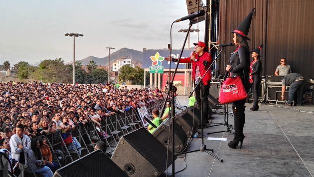 ¡Así se vivió el 'Halloween MODA' con 'Chino y Nacho' y tus artistas favoritos! [FOTOS Y VIDEOS]