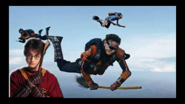 ¡Alucinante! Logran jugar Quidditch en la vida real a lo Harry Potter