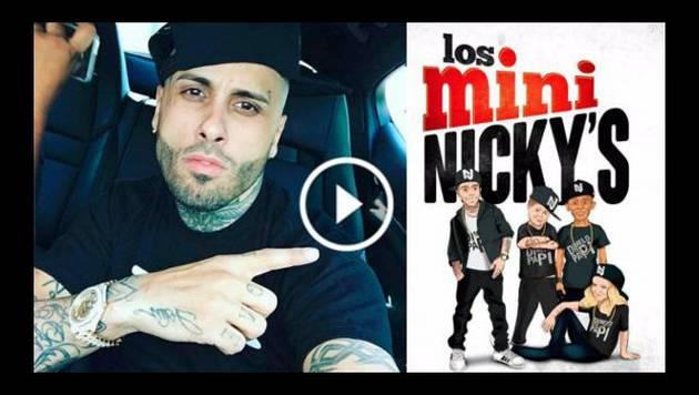 Vacílate con los pequeños imitadores de Nicky Jam