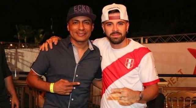 ¡Mike Bahia conversó con MODA y se puso la camiseta de la selección peruana!