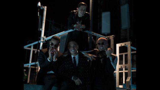 ¡J Balvin, Bad Bunny, Arcángel y De La Ghetto se juntaron!