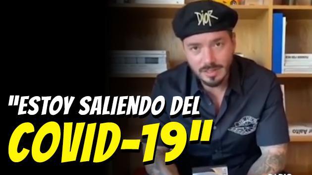 """J Balvin: """"Estoy saliendo del COVID-19"""" [VIDEO]"""