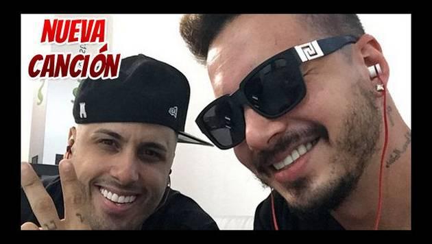J Balvin y Nicky Jam preparan un nuevo reggaetón juntos
