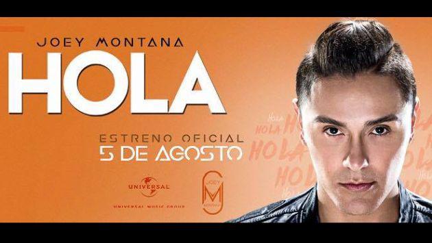¡Escucha 'Hola', el nuevo tema de Joey Montana!