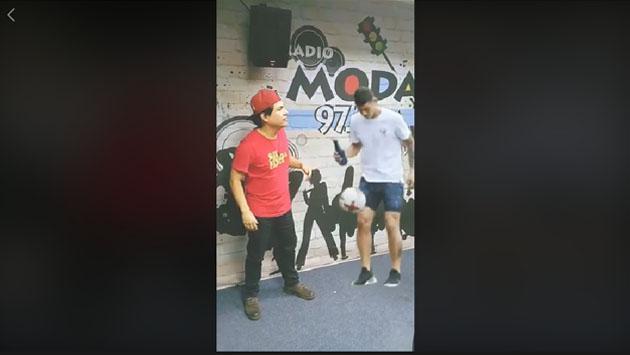 Jojojonathan intentó entrevistar a James Rodríguez y esto pasó [VIDEO]